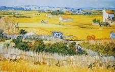 Jardim das Hortas, 1888, Vincent van Gogh.