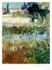 Jardim Florescendo, 1888, Vincent van Gogh, The Frick Collection, Nova York.
