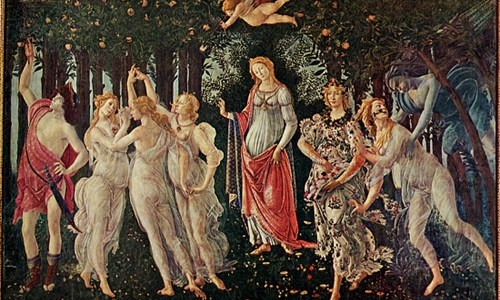 A Primavera, Sandro Botticelli