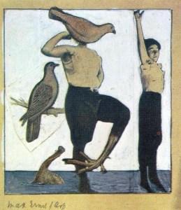 """""""Local de Nascimento de Dada""""- 1920 - Colagem de Max Ernst"""