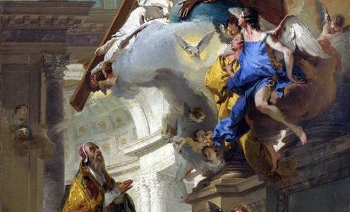 A Visão da Trindade, Giambattista Tiepolo