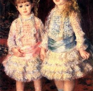 Rosa e Azul, Pierre-Auguste Renoir