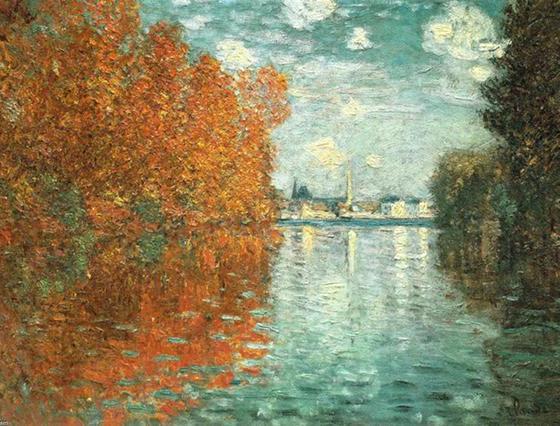 Efeito do Outono em Argenteuil, Claude Monet