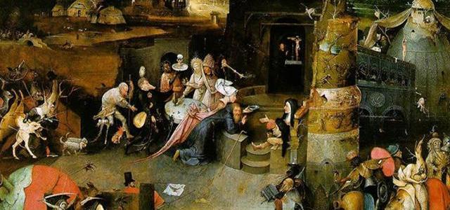As Tentações de Santo Antão, Hieronymus Bosch