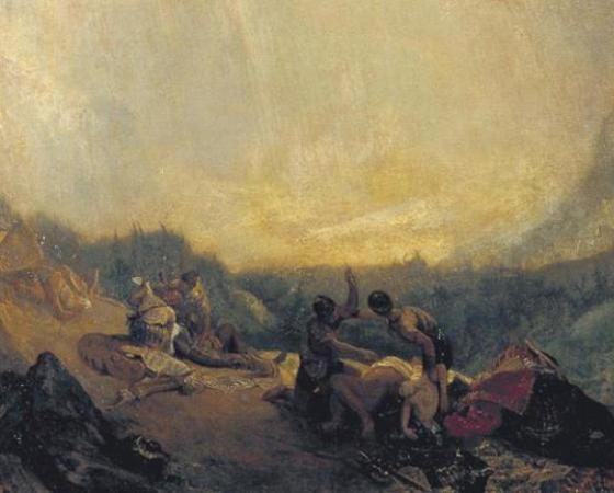 Aníbal Atravessando os Alpes, J.M.William Turner