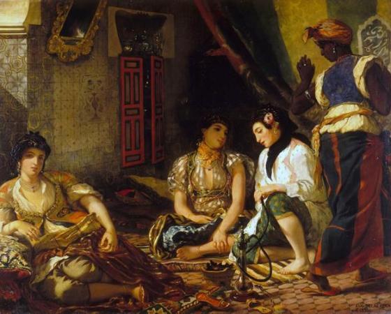 Aventura de Delacroix no Marrocos