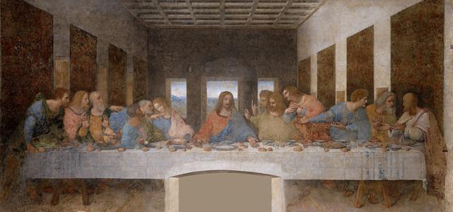 A Última Ceia, Leonardo da Vinci