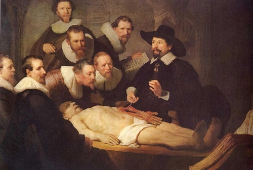 A Lição de Anatomia do Dr. Tulp – Rembrandt