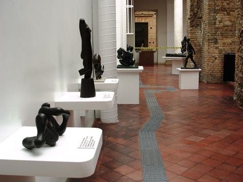 Galeria Tátil na Pinacoteca de São Paulo