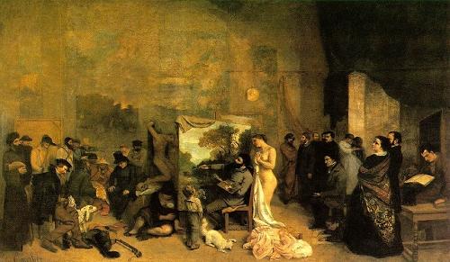 O Ateliê do Artista – Gustave Courbet