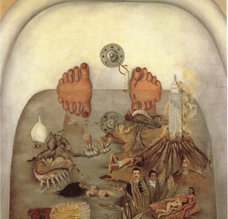 O que a Água me Deu, Frida Kahlo