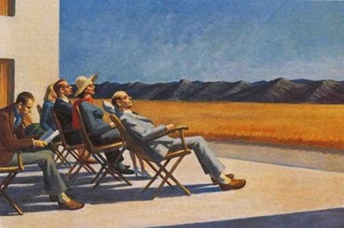 Pessoas ao Sol, Edward Hopper