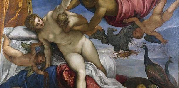 A Origem da Via Láctea, Tintoretto