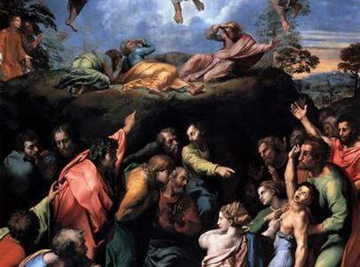 A Transfiguração, Rafael Sanzio