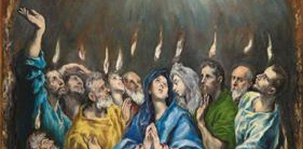 O Pentecostes, El Greco