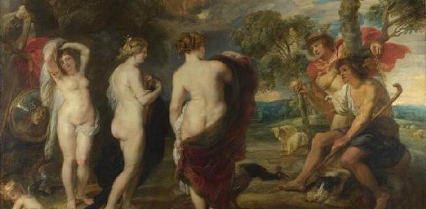 O Julgamento de Páris, Peter Paul Rubens