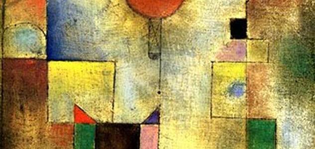 Balão Vermelho, Paul Klee