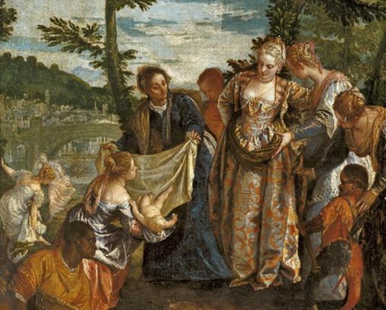 Moisés Salvo das Águas, Paolo Veronese