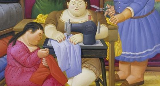 As Costureiras, Fernando Botero