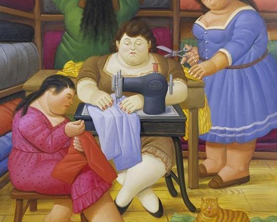 As Costureiras, Fernando Botero