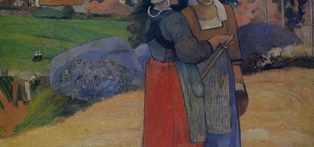 Camponesas Bretãs, Paul Gauguin