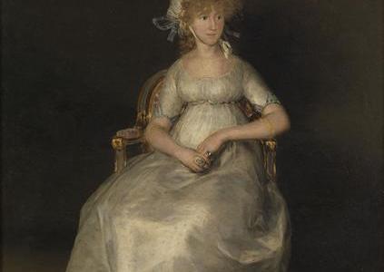 A Condessa de Chinchón, Francisco de Goya