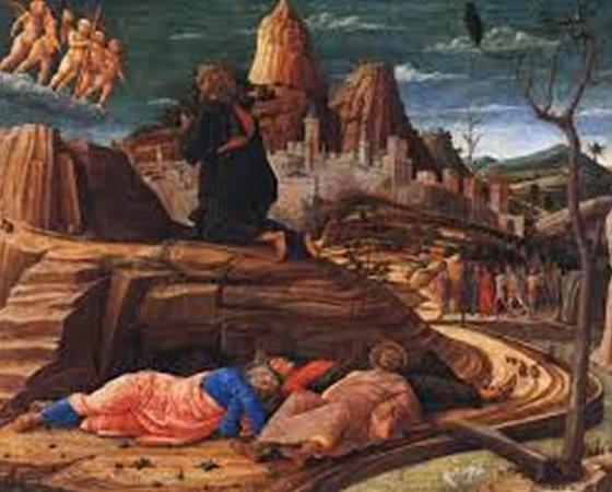 A Agonia no Horto, Andrea Mantegna