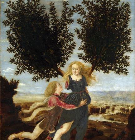 Apolo e Dafne, Antonio del Pollaiuolo