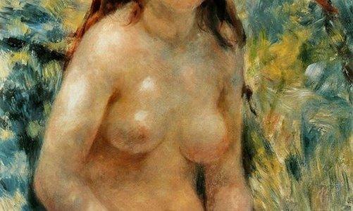 Torso, Efeito do Sol, Pierre-Auguste Renoir