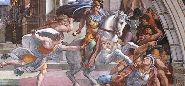 A Expulsão de Heliodoro do Templo, Rafael Sanzio