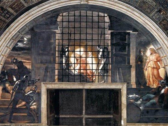 A Libertação de São Pedro, Rafael Sanzio
