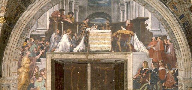 A Missa de Bolsena, Rafael Sanzio