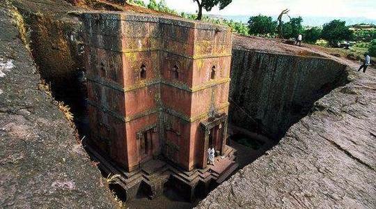 Igrejas de Pedra da Etiopia
