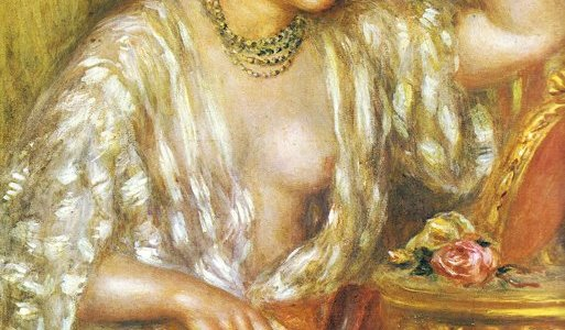 Gabrielle com Joias, Renoir