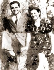 André Papine e sua esposa Maria Lessa