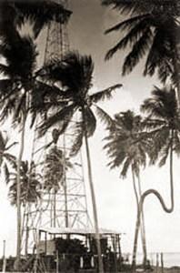Nos anos 30, o governo federal abriu poços de prospecção de petróleo na Ponta Verde. Este era bem próximo ao Gogó da Ema