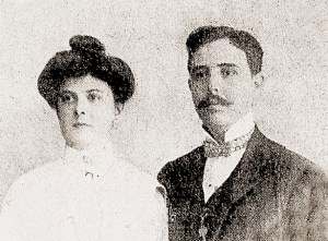 Dr. Aristheu de Andrade e sua esposa