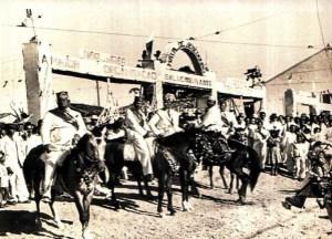Cavalhada em Bebedouro, acervo do Museu Theo Brandão