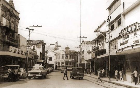Cine São Luiz no início dos anos 60
