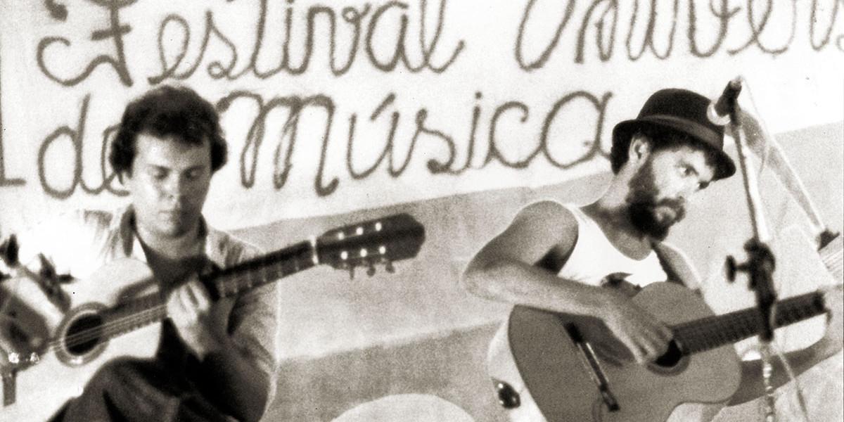 III Festival Universitário de Música em 1981