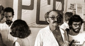 Na sede do PCB em 1985