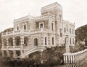Palacete de Francisco Leão na década de 1920