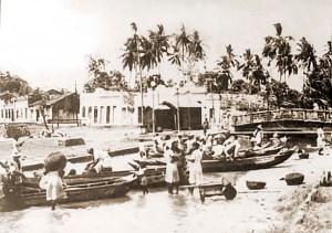 Porto de Bebedouro em 1906