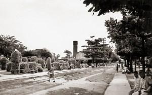 Praça Emílio de Maya nos anos 40