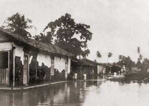 Rua do Ganso, no Poço, em 1924
