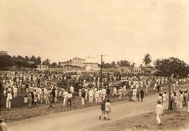 Tropas revolucionárias de 1930 chegam em Alagoas no dia 13 de outubro, e acampam na Praça da Faculdade, em frente ao Quartel de Linha do 20º BC