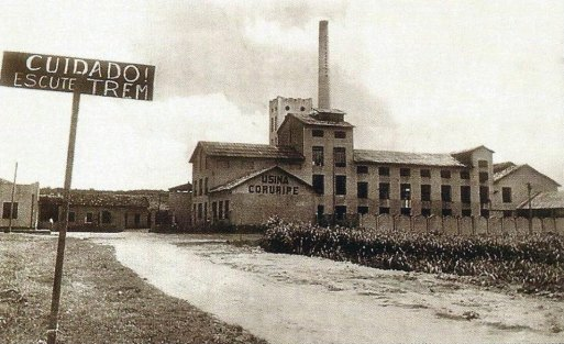 Usina Coruripe antes da modernização do seu parque industrial