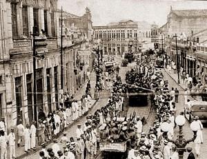 No dia 14 de outubro de 1930 chega a Maceió a Coluna Revolucionária vindo de Recife