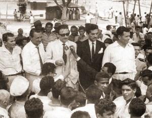 Antônio Gomes de Barros, Teotônio Vilela, Sandoval Caju e Luiz Cavalcante