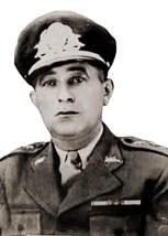 Comandante do 20º BC, coronel Mário Lima